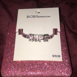 BCBGeneration HOPE bracelet